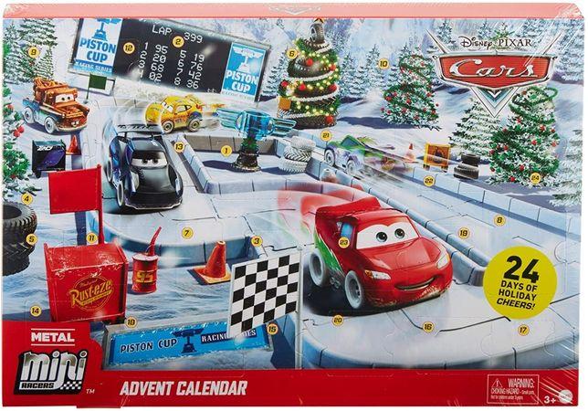 Адвент календарь Тачки 3 Disney Pixar Cars Minis Advent Calendar