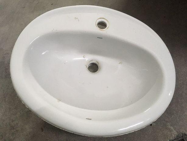 Lavatório Roca usado p/ WC