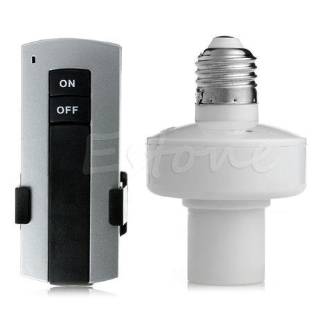 Controlo remoto lâmpada E27 wireless