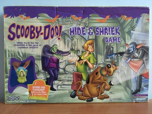 Scooby Doo - Hide & Shriek - Gra Planszowa - Cartoon Network - Używana