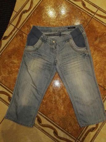 Spodnie spodenki ciążowe 38 40 M L 3/4