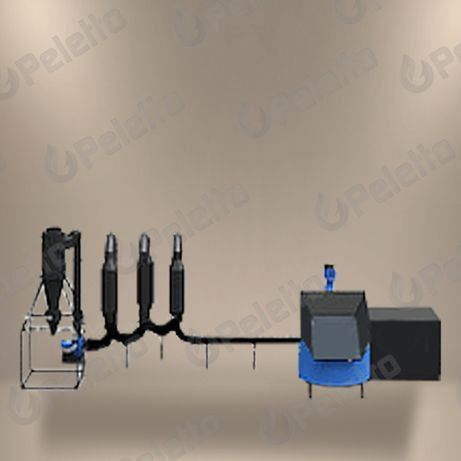 Suszarnia do trocin | 5.5 kW | 600 kg/h