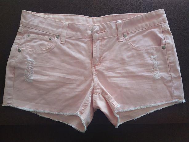 Женские розовые  шорты