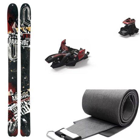 -50% Narty Skiturowe / Freeride K2 Darkside 128, 181, Dynafit