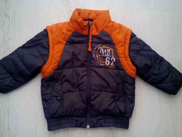 Куртка-жилетка Tom Tailor на 4-5 лет.