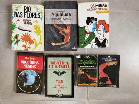 Os Maias, Rio das Flores, Barroco Tropical, Criminais