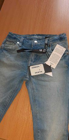 Dzieciece nowe spodnie firmy Guess