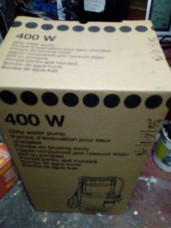 Pompa 400w do wody brudnej