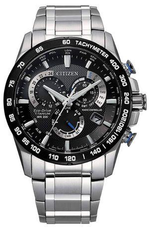 Zegarek męski Citizen PCAT Eco-Drive Chronograph Super Titanium