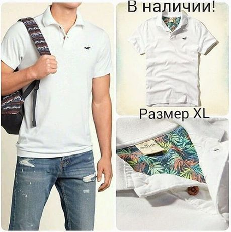 Футболка Holister. р. ХЛ