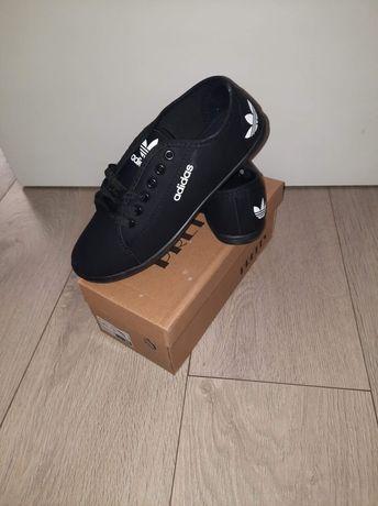 Buty damskie trampki  adidas czarne