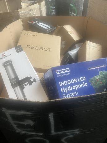 Palety MIX Elektronika AGD kat A NOWE Amazon