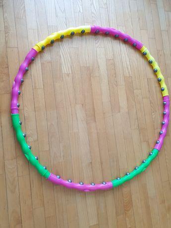 Koło hula-hop z wypusktami
