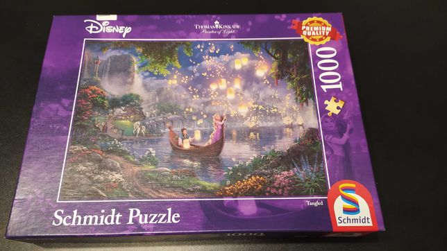Puzzle 1000 el. Disney Roszpunka