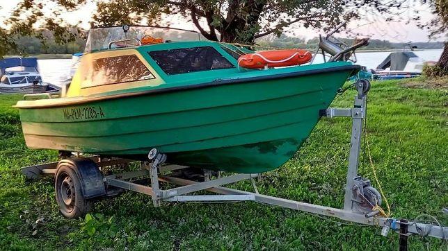 Łódka plus silnik