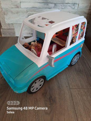 Wakacyjny pojazd piesków Barbie kamper