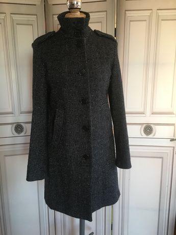 Płaszcz wełniany Benetton