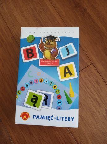 Sprzedam grę edukacyjną Pamięć - Litery firmy Alexander