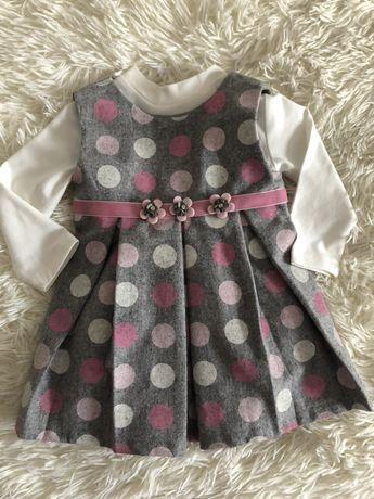 Нарядное платье 7-9м, нарядне плаття 68-74