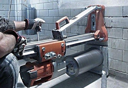 Wiercenie otworów w betonie. Technika Diamentowa żelbet Wołów