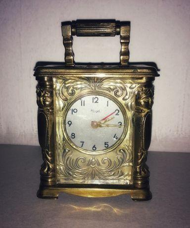 Zegar kominkowy podróżny Kienzle 1827