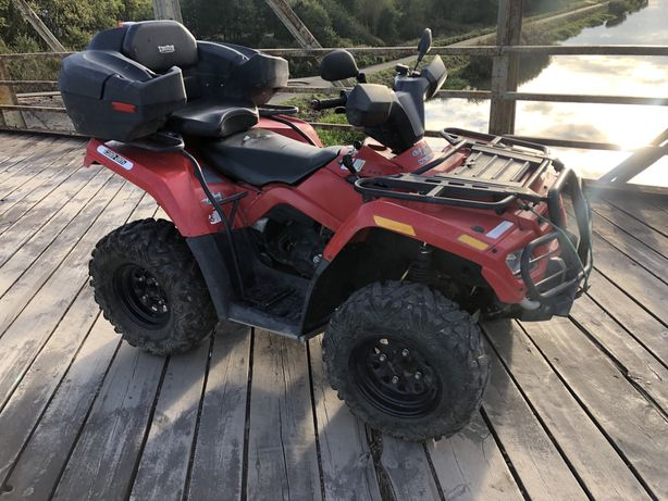 Canam can-am outlander 400 rotax Quad yamaha Grizzly