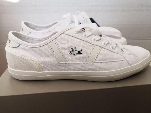 NOWE buty tenisówki LACOSTE Sideline 119 1 CFA rozm. 38