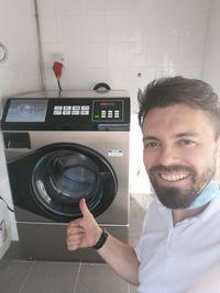 Financiamento 100% máquina de lavar roupa industrial Self-service lar