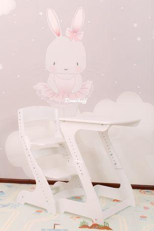 Растущий стол и стул для ребенка