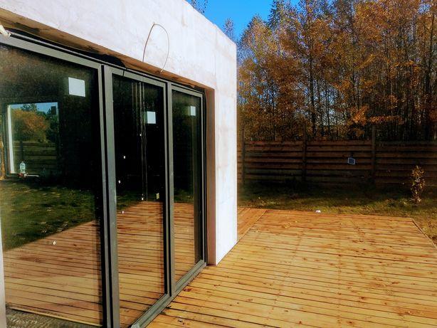 Nowy Dom 70 m2 w Osadzie Sęk, działka 823 m2,12 km Torunia, cena 375