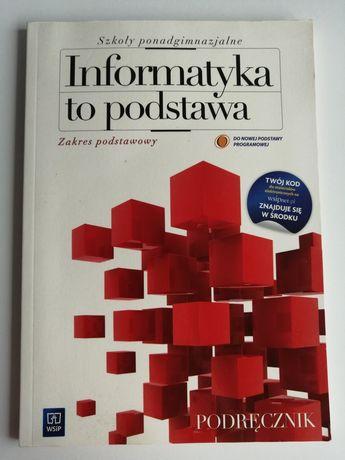 Informatyka to podstawa podręcznik