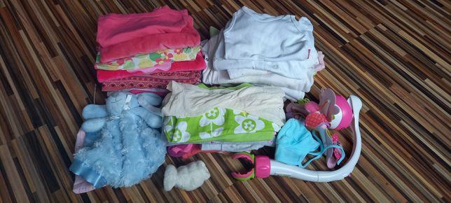 Paka zestaw ubranka do 74