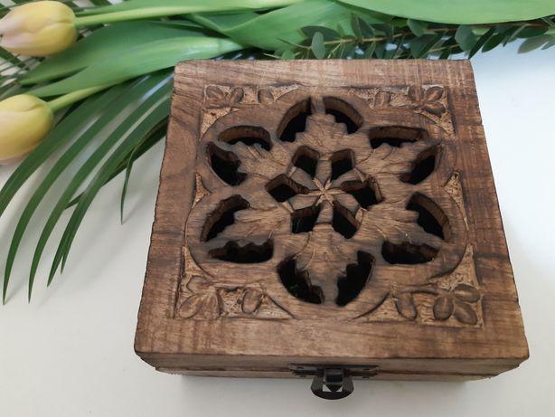Pudełko na obrączki rustykalne