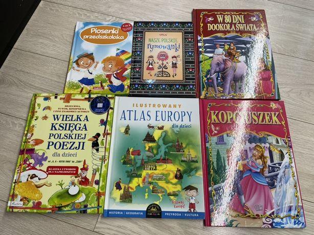 Kopciuszek, nasze polskie rymowanki, wielka ksiega poezji dla dziecia