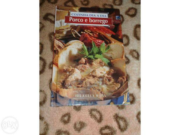 Livro de culinaria - porco e borrego