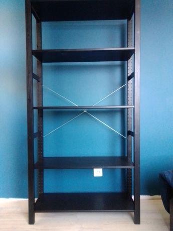 Regał IVAR IKEA czarny