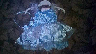 Продам платье Дисней принцесса на 6-12 месяцев