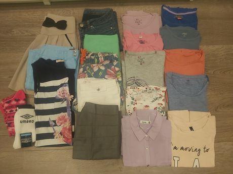 Mega paka ciuchów 152/158 markowe ubrania
