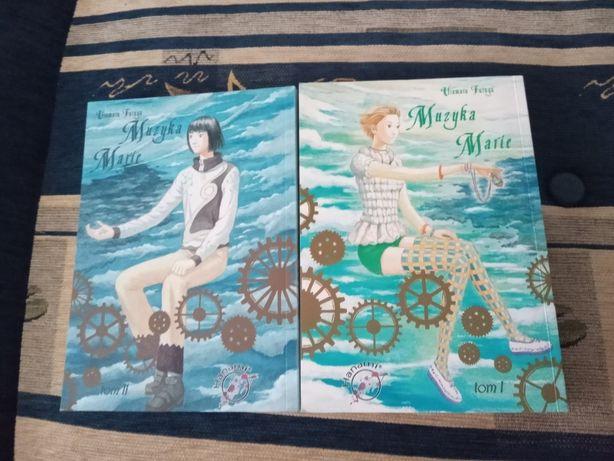 """Manga """"Muzyka Marie"""" tom 1-2 Hanami, Dramat, Okruchy życia seinen"""