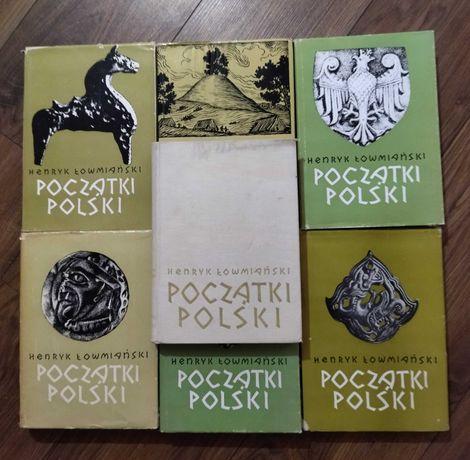 Łowmiański Początki Polski, wszystkie tomy