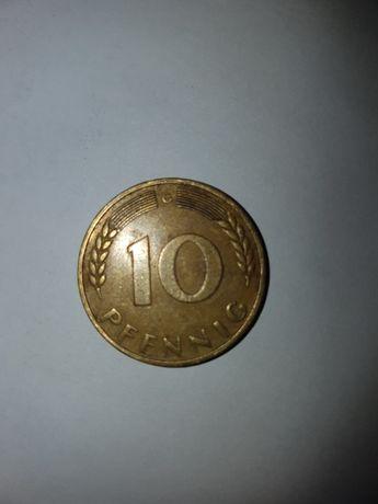 NIEMCY Federal 10 Pfennig 1950