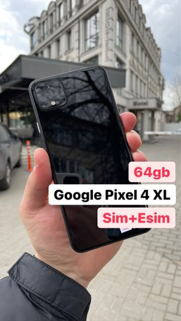 Google Pixel 4 XL Black Sim+Esim Хороший Стан! #6382