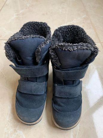 Детские зимние теплые ботинки ECCO