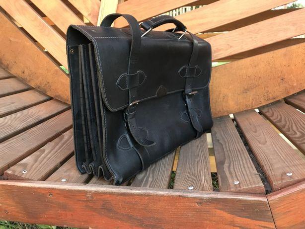 Сумка дипломат чемодан шкіра