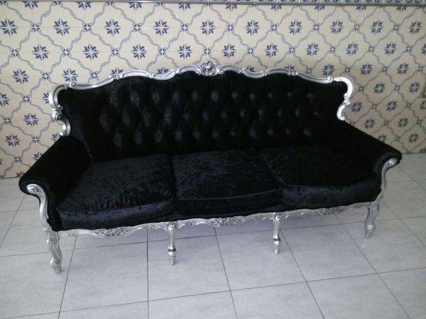 Sofa 3 lugares Vintage (Novo) estou a precisar do espaço