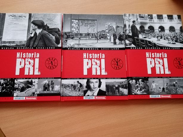 Historia PRL zestaw Tom 1,2,3