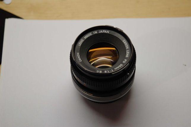 Объектив Canon FD 50mm 1.8 S.C (fujifilm, sony)