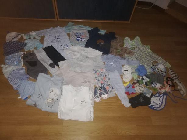 Ubranka dla chłopca 56,62,68