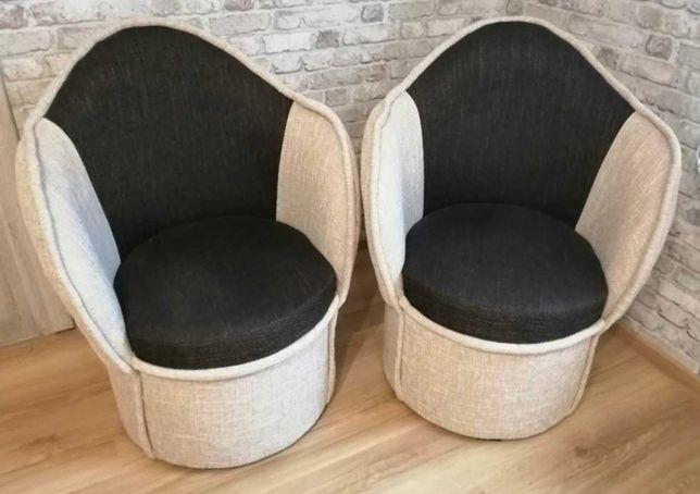 Fotel typu pufa 2 szt.