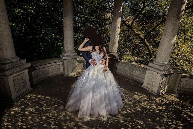 Piękna suknia ślubna rozmiar 36